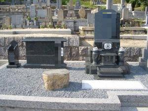 インド石の墓石